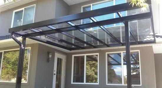 aluminium terrasoverkapping Wilsele